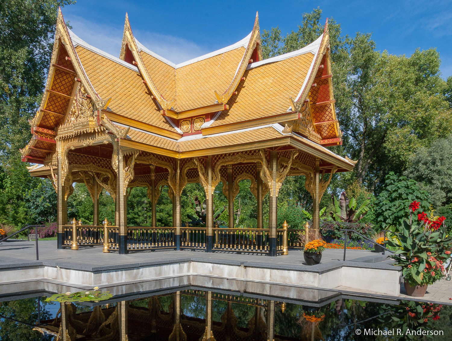 Fall Comes To Garden Of Thai Pavilion >> The Thai Pavilion