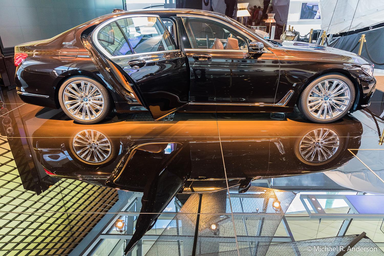 A shiny new BMW