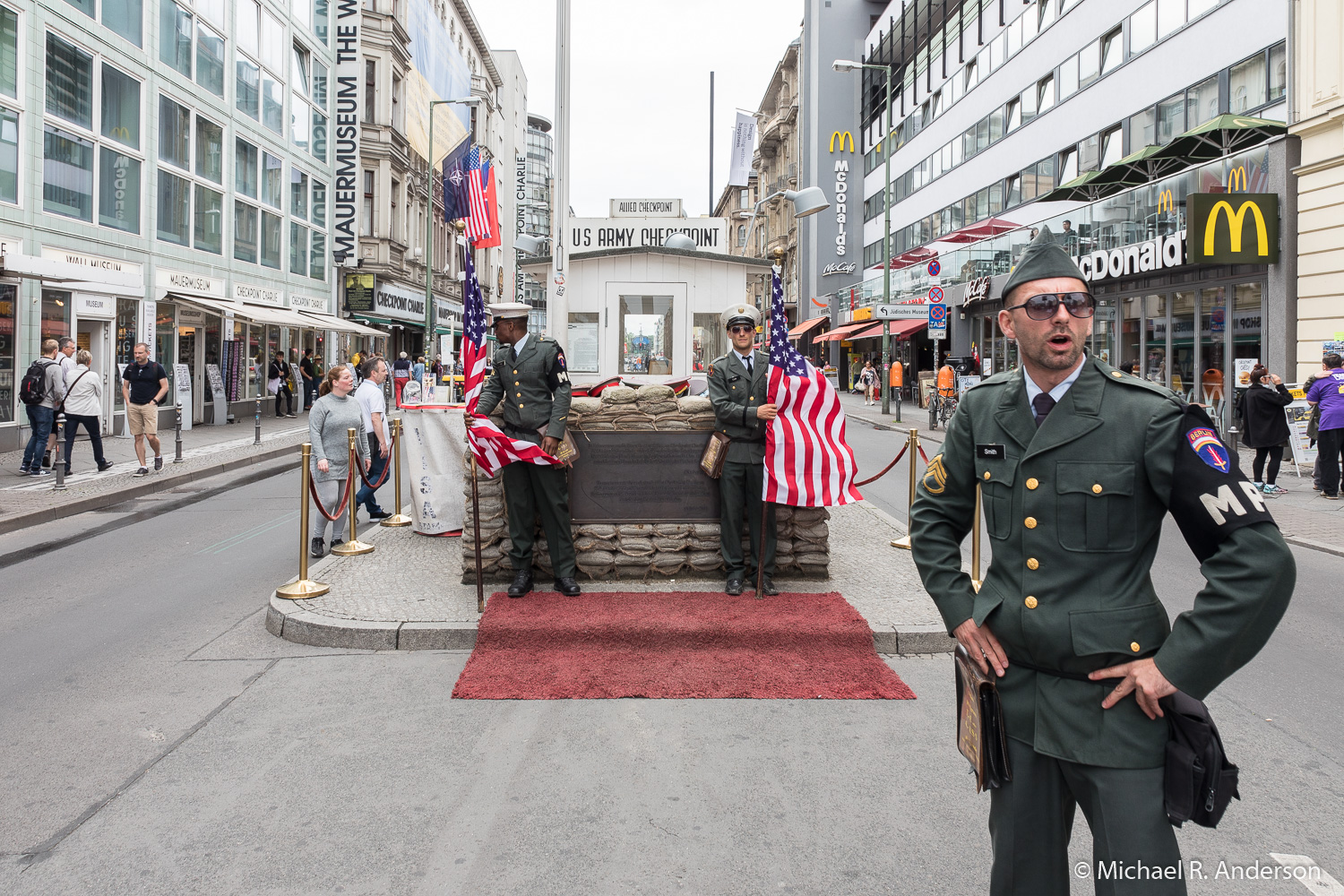 Check Point Charlie in 2017